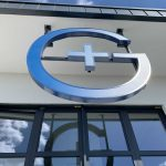 Leuchwerbeanlagen: Gesundheitszentrum Breitscheid