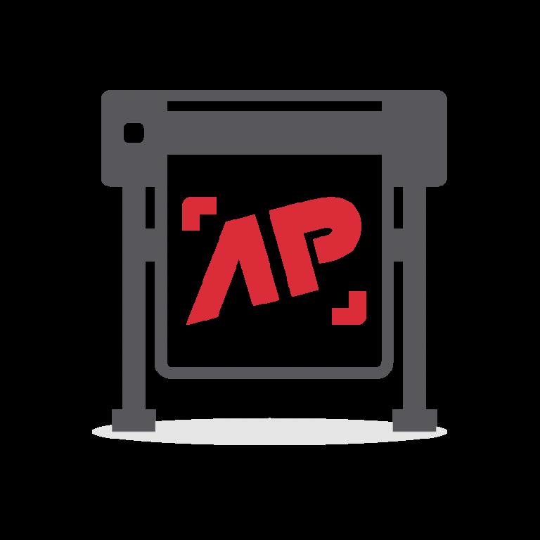 AP Werbung - Kreative Werbetechnik - Icon: Aufkleber