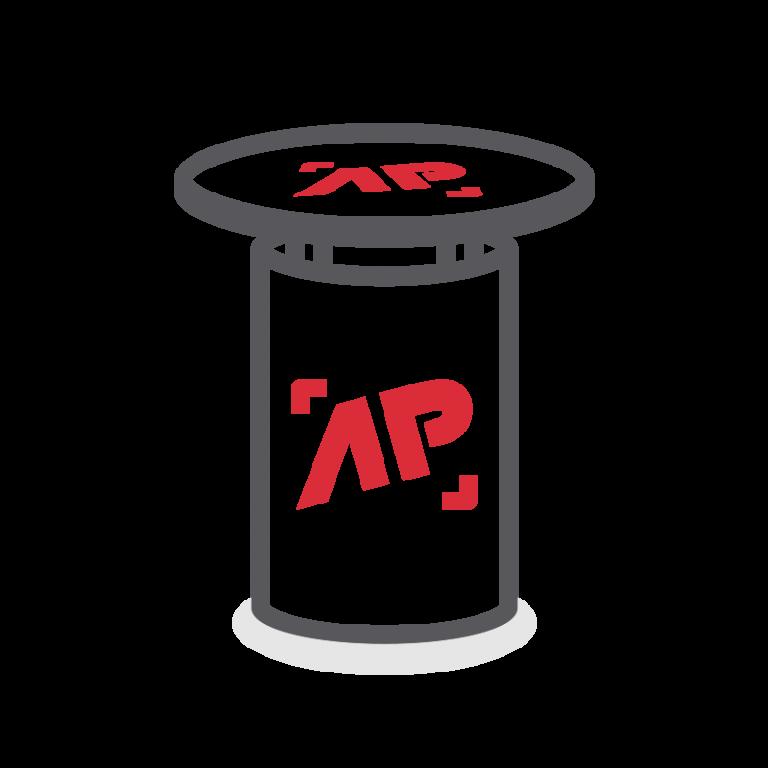 AP Werbung - Kreative Werbetechnik - Icon: Werbemöbel