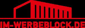 Im Werbeblock Logo